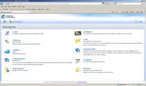 Student app portal