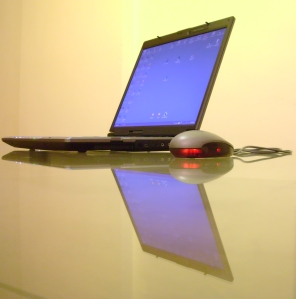 Laptop - reflection