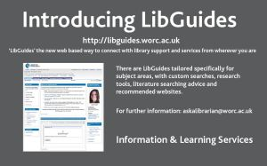 Lib Guides screen 2